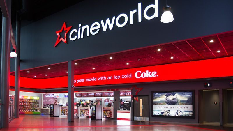 Cineworld Cinema Vouchers